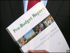 Copy of the pre-Budget report