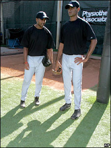 Dinesh Patel (L) and Rinku Singh
