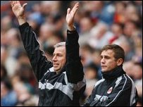 Alan Pardew and Phil Parkinson