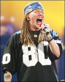 Axl Rose in 2002