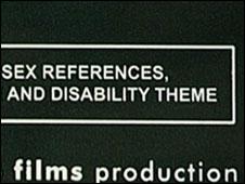 The film censor's advisory note