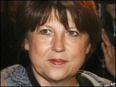 French Socialist Party leader Martine Aubry