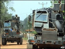 Sri Lankan Army armoured vehicle
