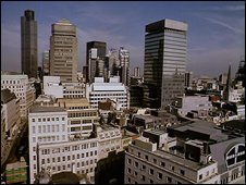 London skyline (BBC)