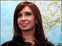 Cristina Kirchner (foto de archivo)