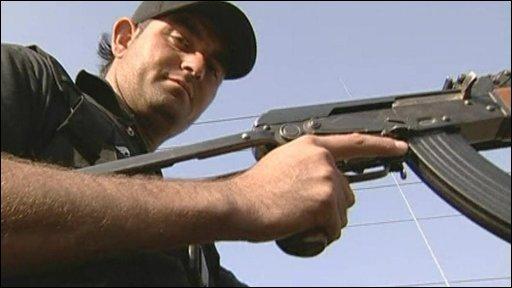 Pakistani police officer