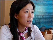 Wo Weihan's daughter Ran Chen