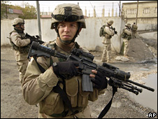 US soldiers in Iraq (file photo)