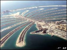 The luxury Palm Jumeirah project