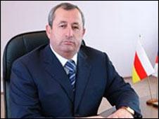 Vladikavkaz Mayor Vitaly Karayev. Photo: http://vladikavkaz.osetia.ru/