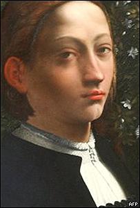 Lucrecia Borgia, retrato del artista Dosso Dossi