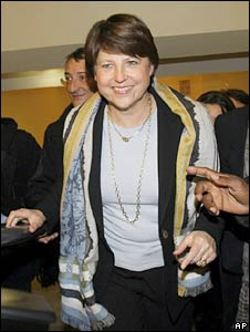 Martine Aubry, new leader of the French Socialists