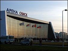 Ice rink, Omsk