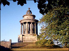 Burns Monument on Calton Hill