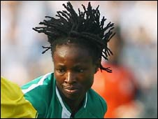 Nigeria striker Perpetua Nkwocha