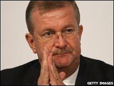 Wendelin Wiedeking, chief executive of Porsche