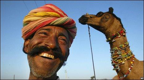Camel trader in Rajasthan