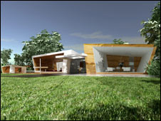 Artist's impression of the property