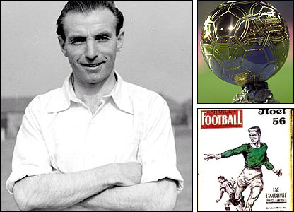 Stanley Matthews won the first Ballon D'Or