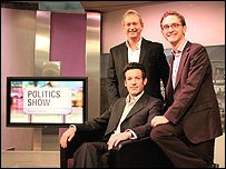 The Politics Show team...
