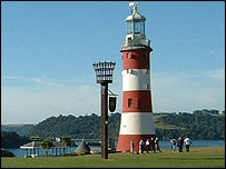 Smeaton Tower on the Hoe