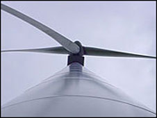 A wind turbine (library picture)