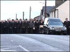 Kenneth Irvine funeral
