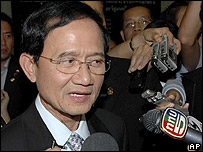 Primer ministro tailand�s, Somchai Wongsawat.