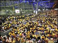 Ocupaci�n del aeropuerto en Bangkok por la oposici�n tailandesa.