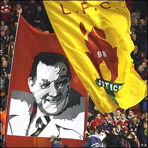 Flags at Anfield