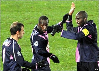 Bordeaux celebrate
