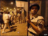 Fuerzas de seguridad indias