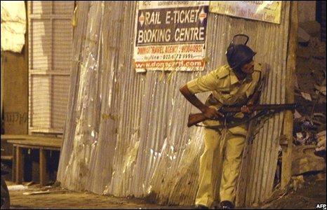 Policeman in Mumbai