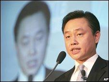 Mr Huang speaks in Beijing on 16 Nov 2006