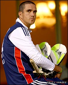 England captain Kevin Pietersen