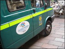 Glasgow City Council van