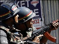 جنود هنود في مومباي 26-11-2008