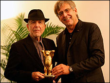 Leonard Cohen and Rob Hallett