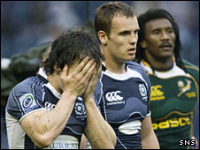 The Scots were left dejected in last season's Plate final at Murrayfield