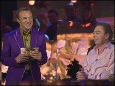 Graham Norton and Andrew Lloyd Webber