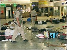 Chattrapati Shivaji station - 26/11/2008