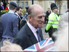The Duke of Edinburgh in Banbury