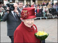 The Queen in Banbury