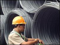 Obrero de Arcelor Mittal