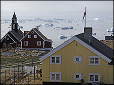 Ilulissat settlement, Greenland