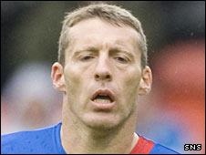 Inverness winger Barry Wilson