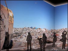 projected landfill site