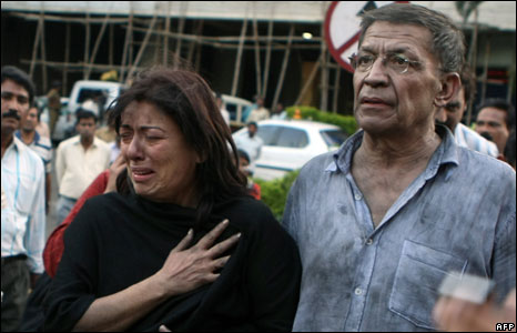Two foreigners freed from Mumbai's Trident-Oberoi hotel, 27 November 2008