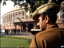 Parliament House was attacked in 2001