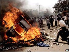 Ahmedabad saw rioting after the Gujarat killings in 2002